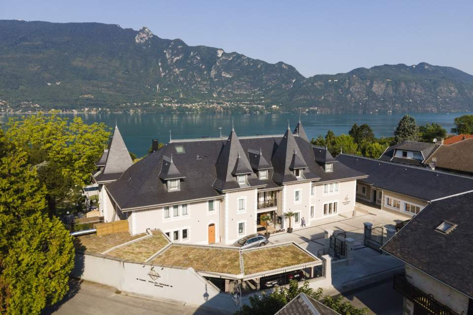 hotel spa lac du bourget, l'incomparable